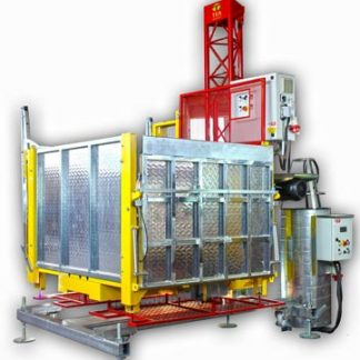 PTE500/1000 Goods & Passenger Rack & Pinion Hoist